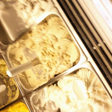 I gelati di Gelato Giusto, a metà serata