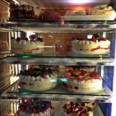 Caffè Via Roma, le torte gelato